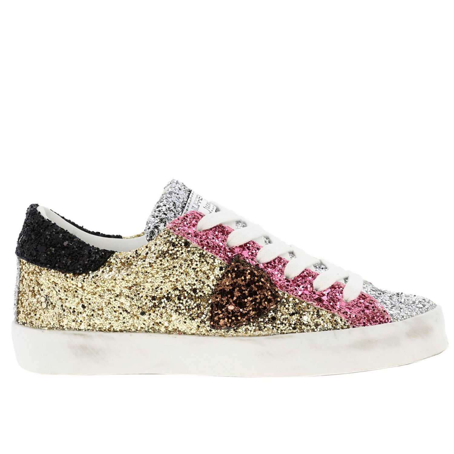 Shoes kids Philippe Model gold 1