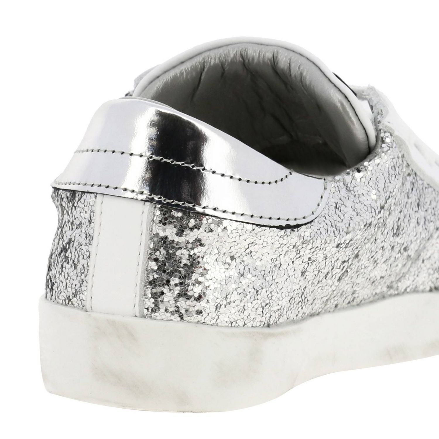 Shoes kids Philippe Model silver 4