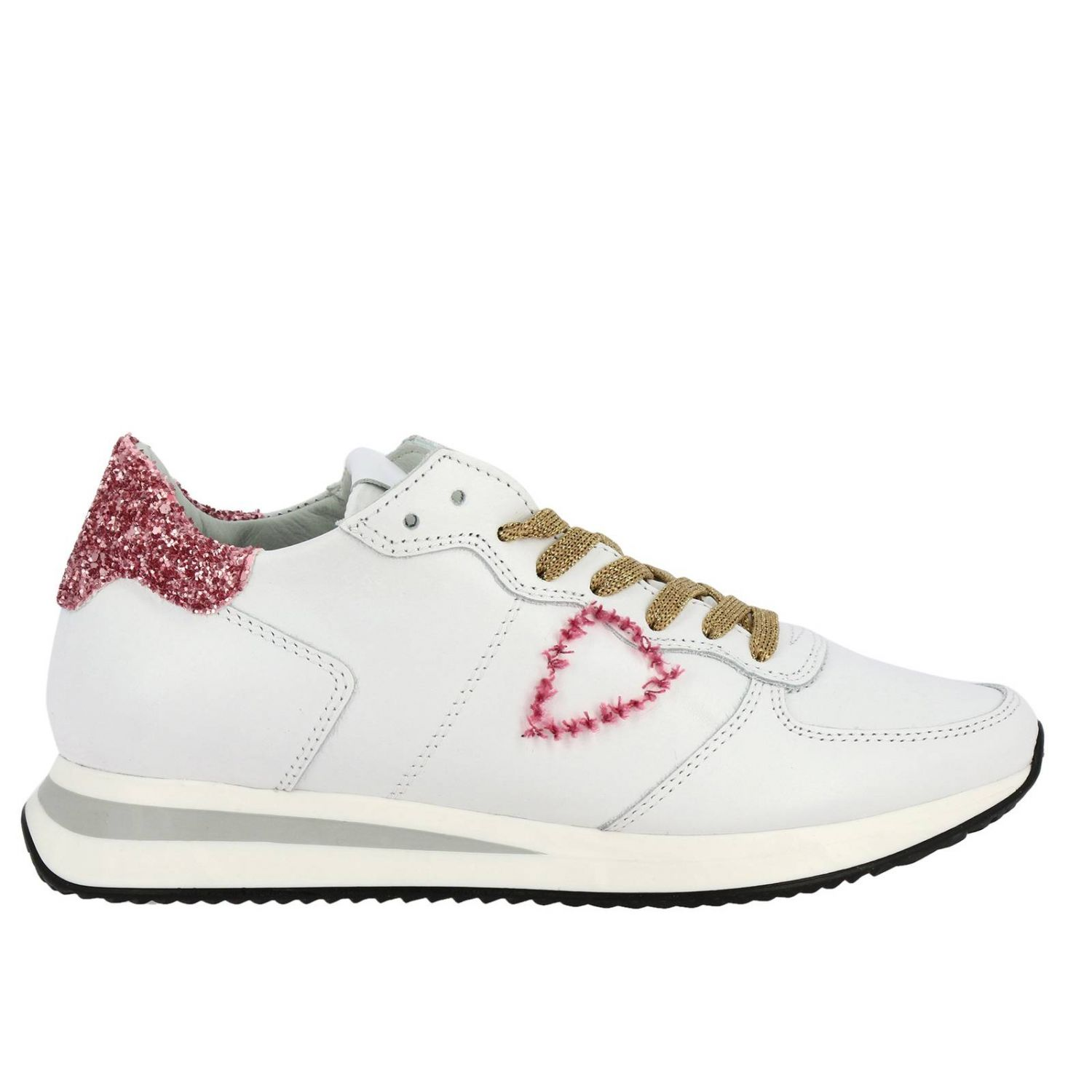 Shoes women Philippe Model white 1