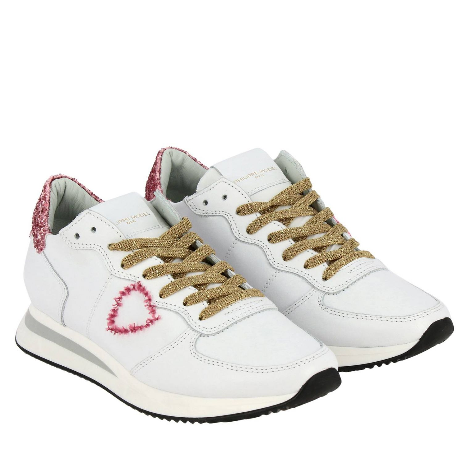 Shoes women Philippe Model white 2