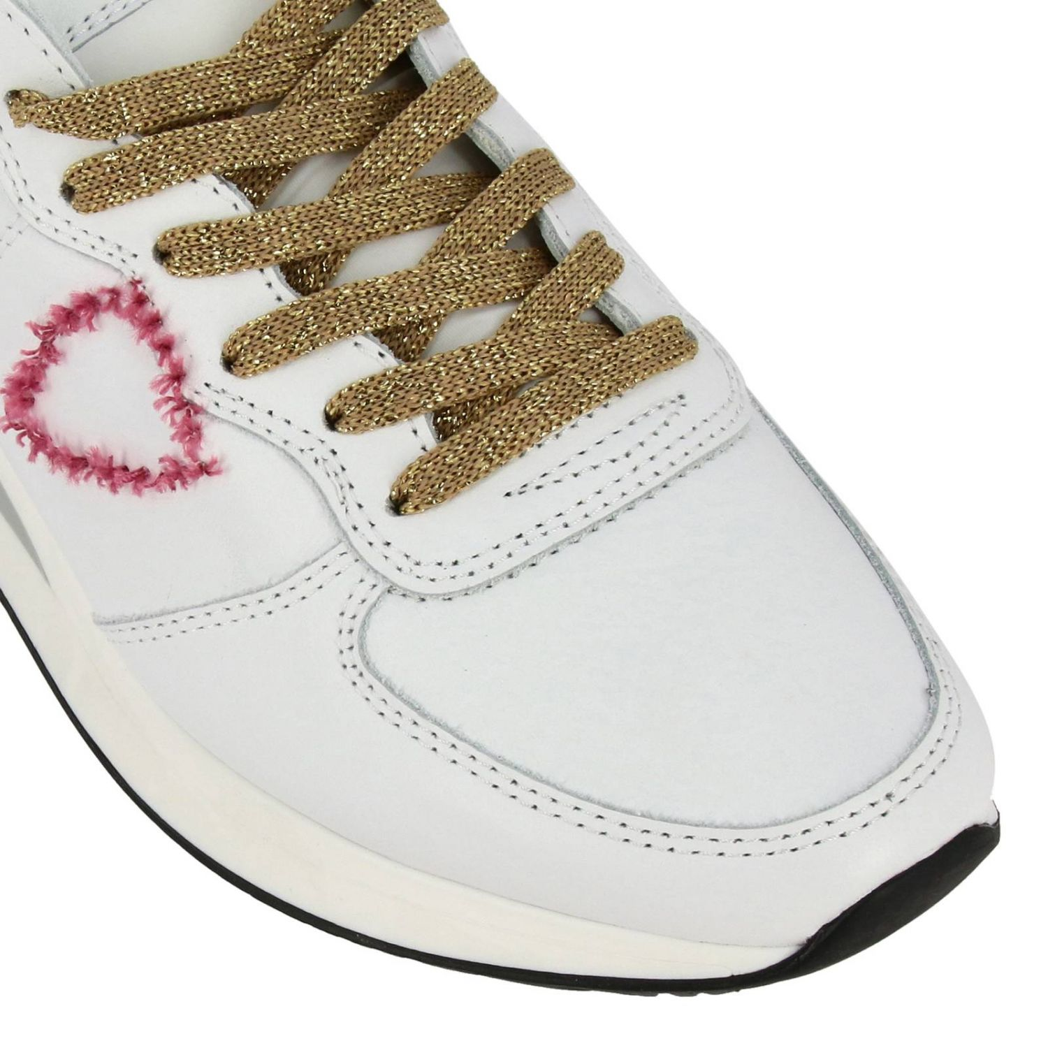 Shoes women Philippe Model white 3