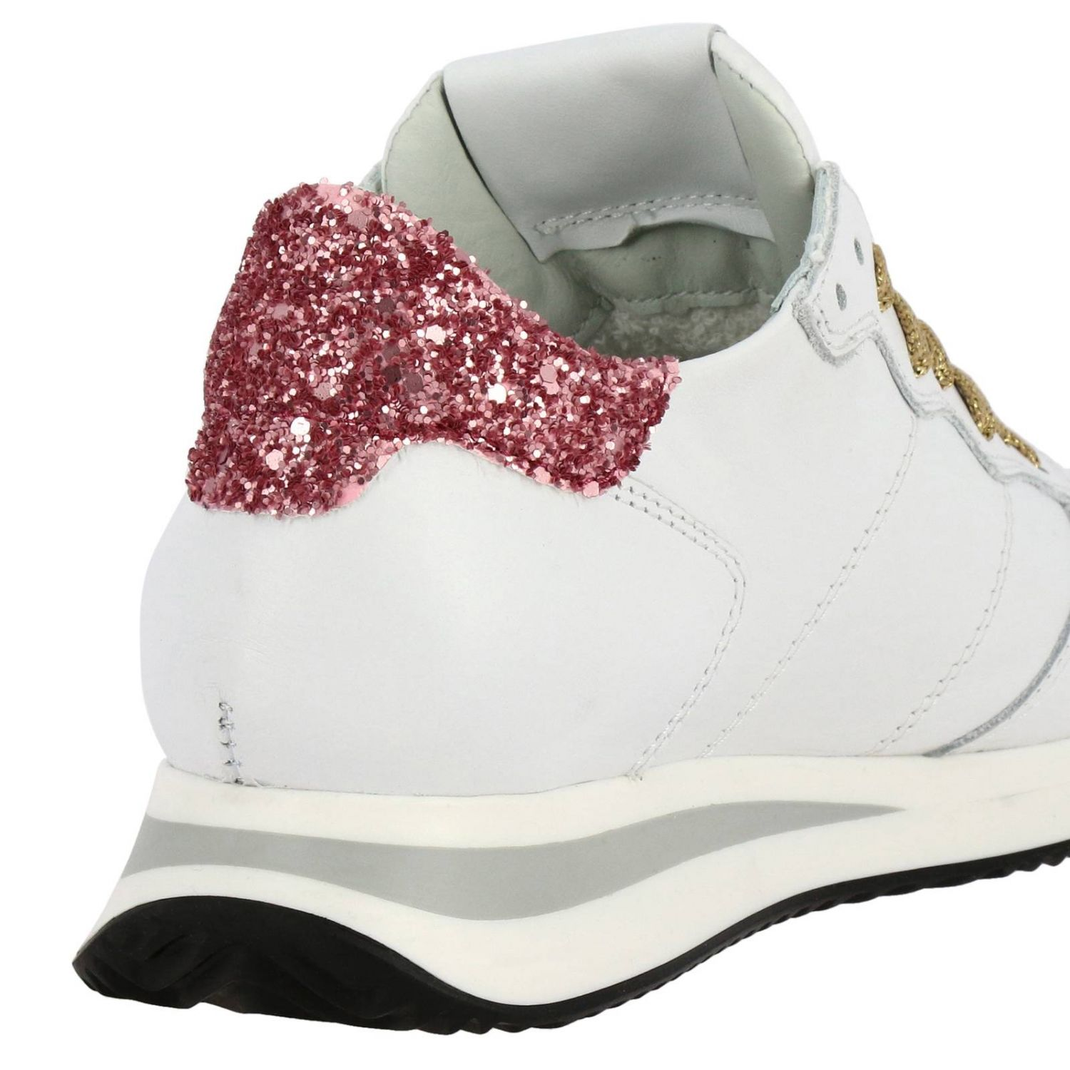 Shoes women Philippe Model white 4