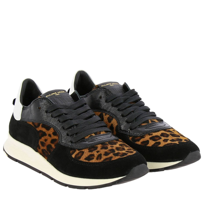 Shoes women Philippe Model black 2