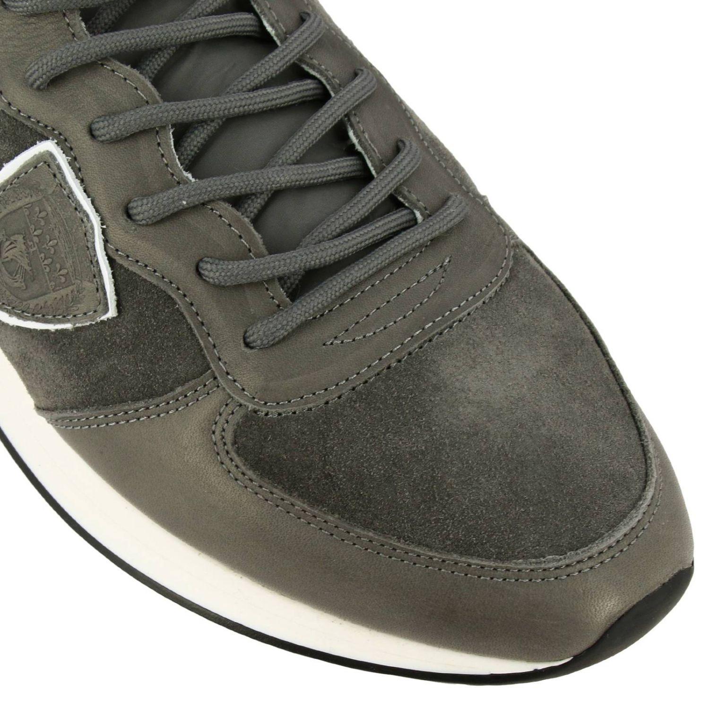 Shoes men Philippe Model grey 3