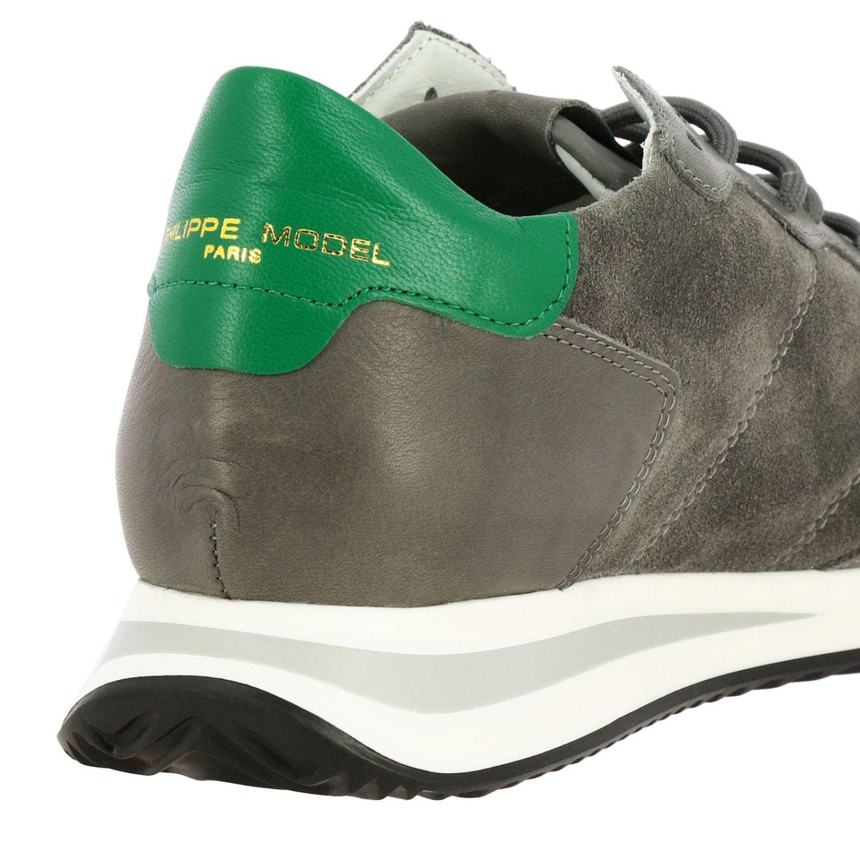 Shoes men Philippe Model grey 4