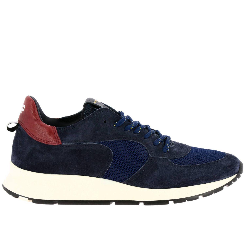 Zapatos hombre Philippe Model azul oscuro 1