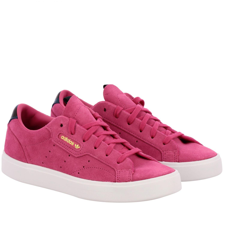 Sneakers Adidas Originals: Shoes women Adidas Originals fuchsia 2
