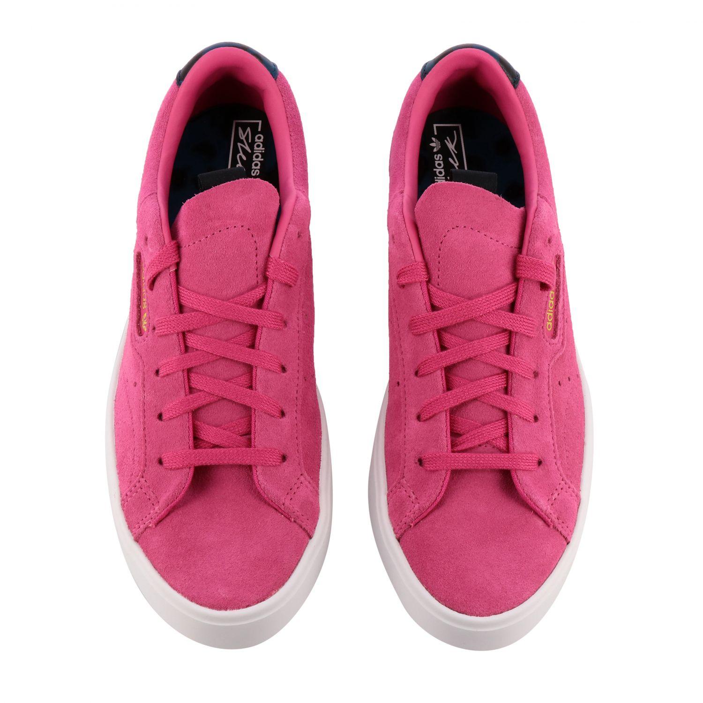 Sneakers Adidas Originals: Shoes women Adidas Originals fuchsia 3