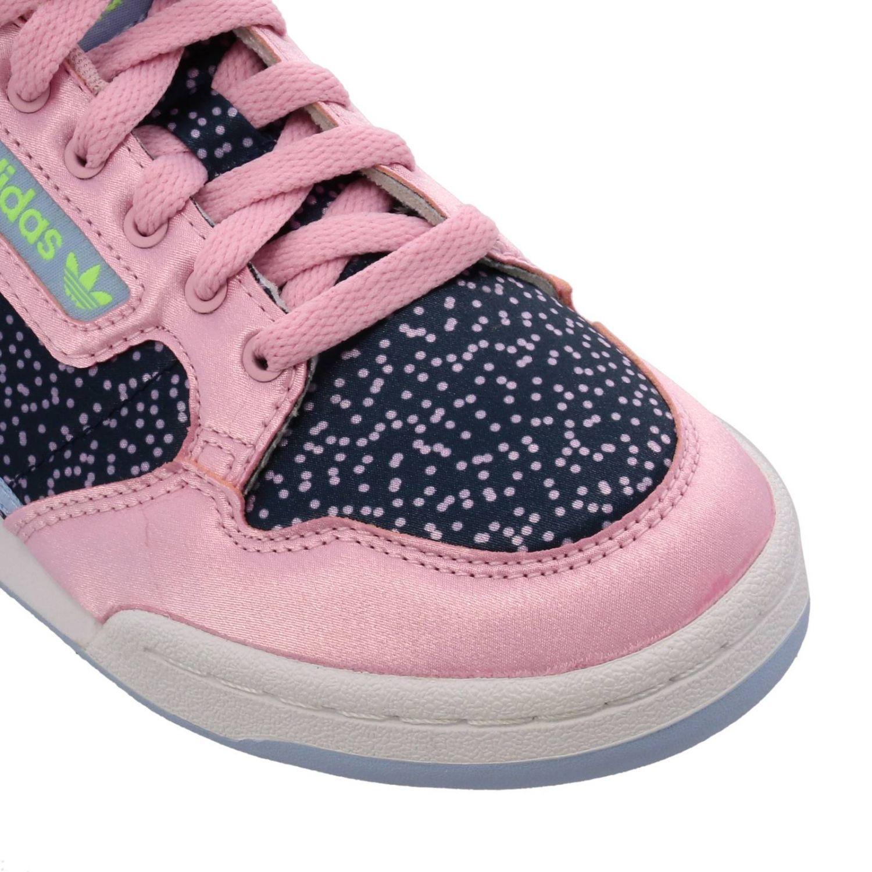 Кроссовки Continental 80s Adidas Originals с узором розовый 3