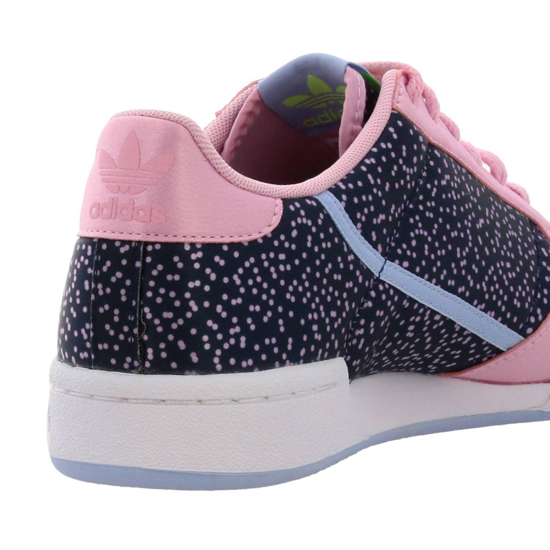 Кроссовки Continental 80s Adidas Originals с узором розовый 4
