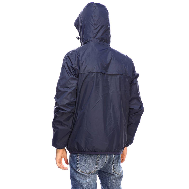 Jacket men K-way blue 2