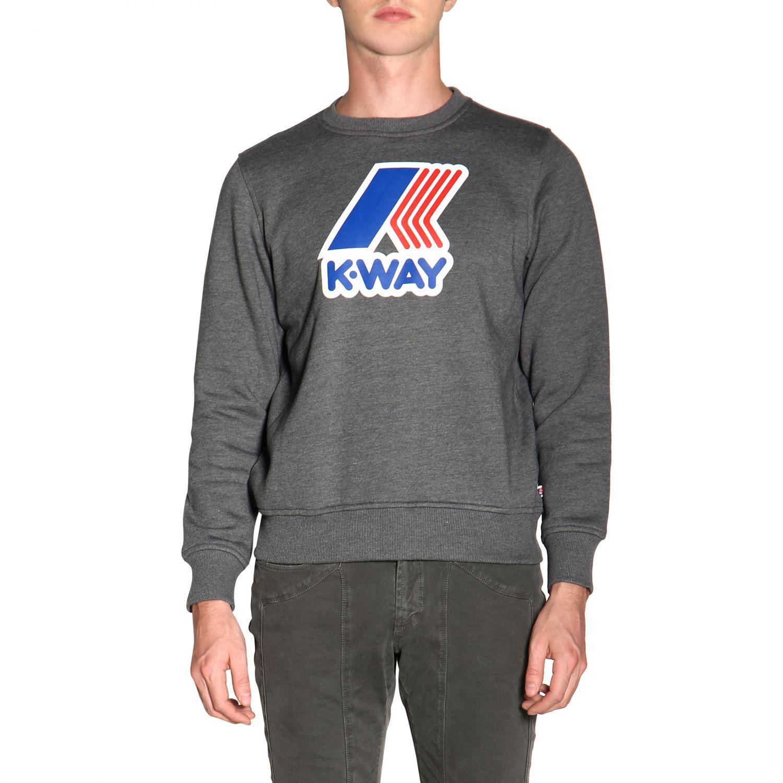 Jumper men K-way grey 1