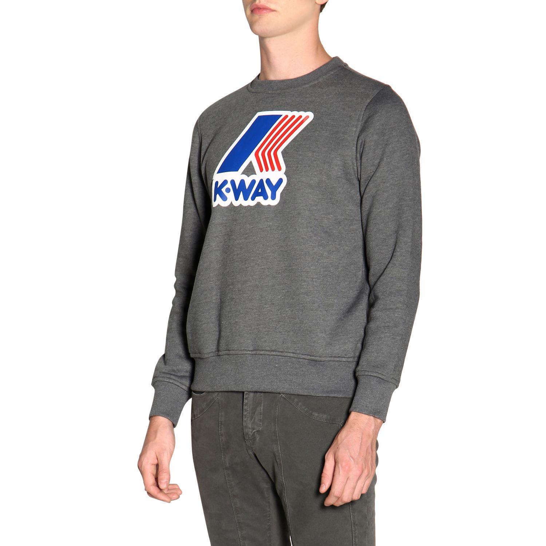 Jumper men K-way grey 4