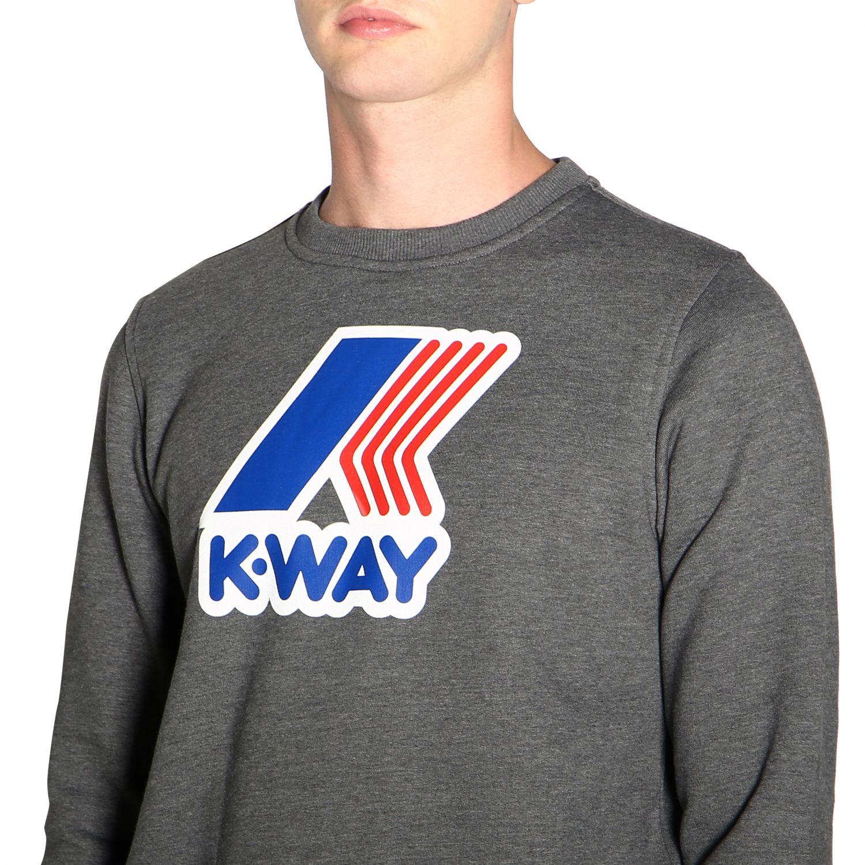 Jumper men K-way grey 5