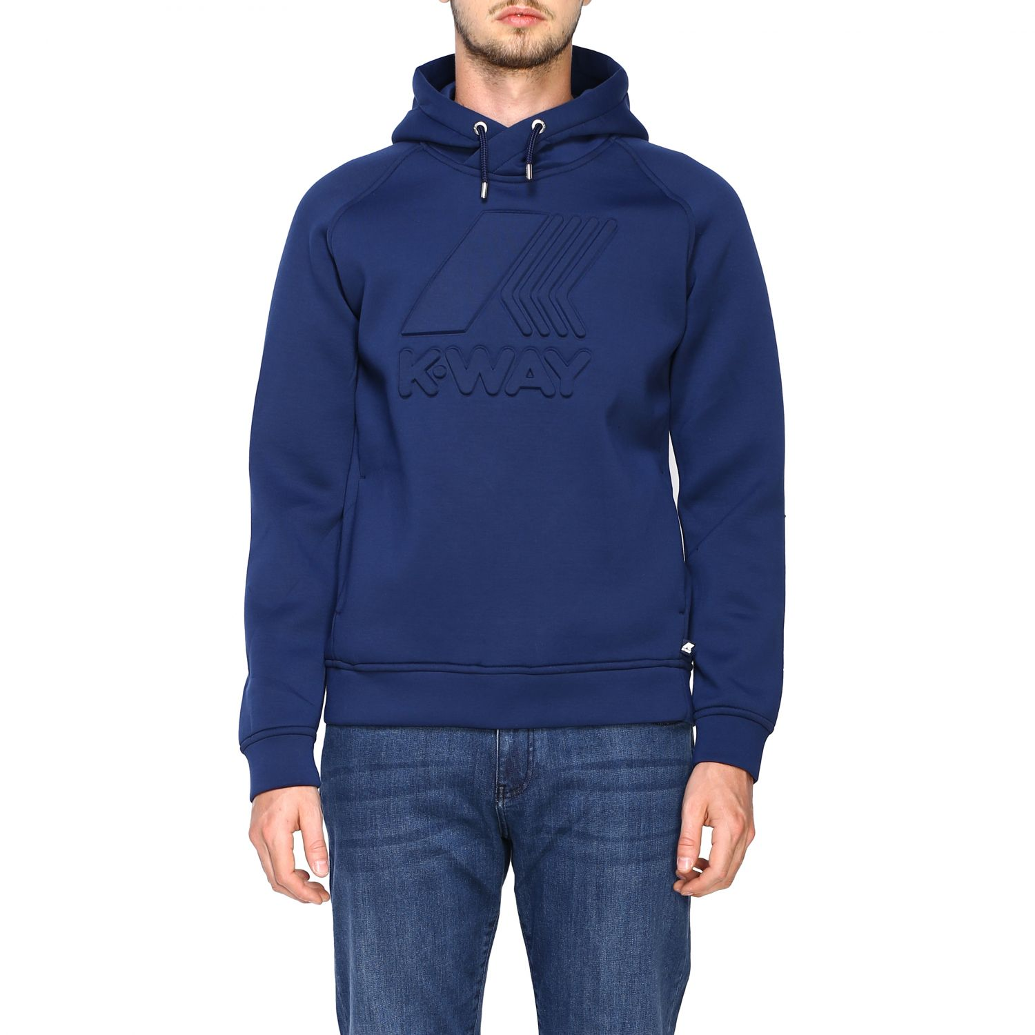 Sweatshirt K-Way: Jumper men K-way blue 1