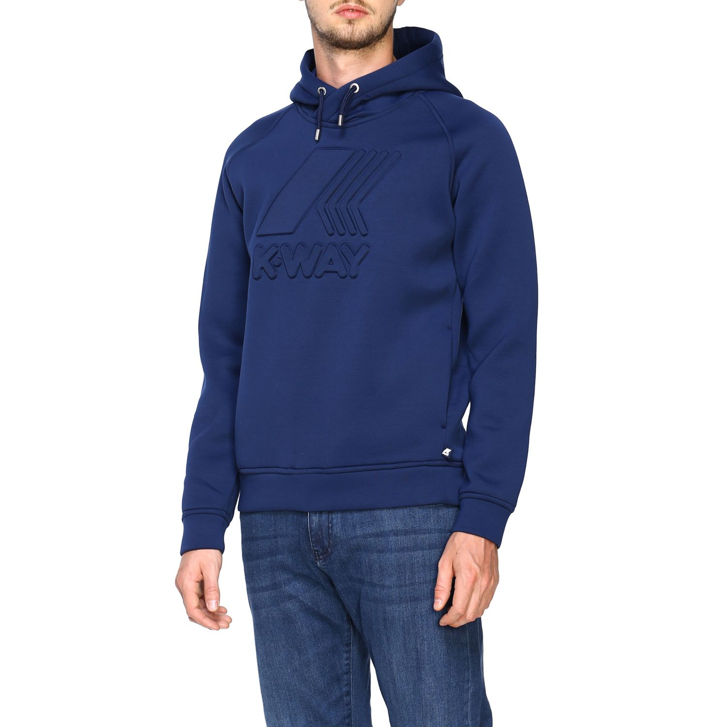 Sweatshirt K-Way: Jumper men K-way blue 3