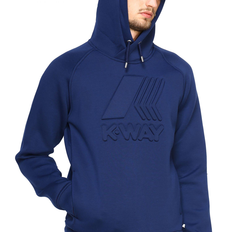 Jumper men K-way blue 4