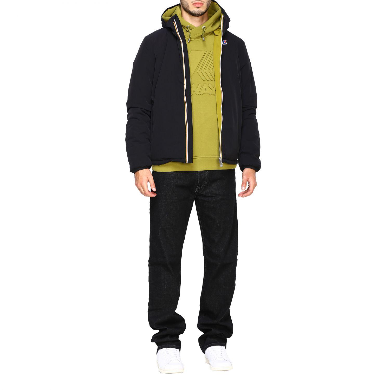 Sweatshirt K-Way: Jumper men K-way green 2