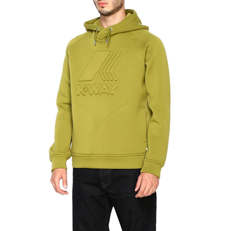Sweatshirt K-Way: Jumper men K-way green 4
