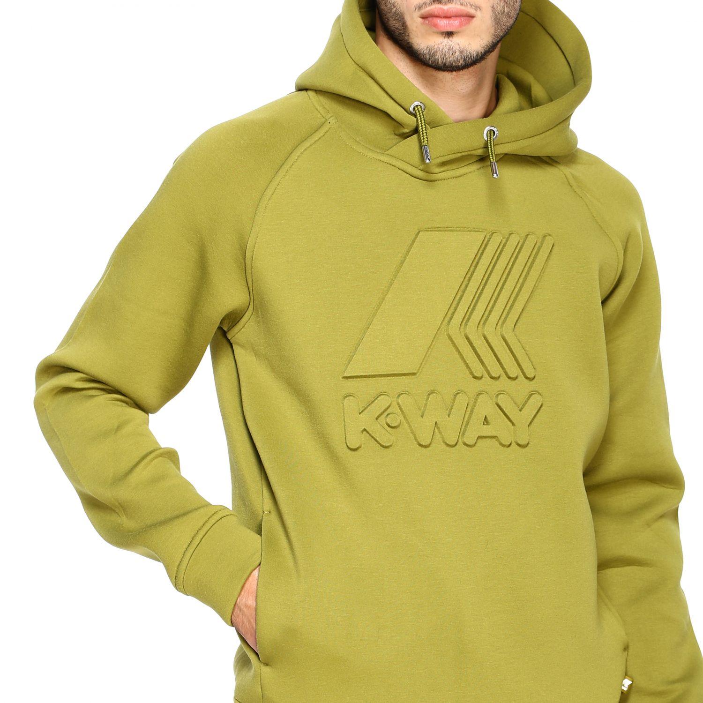 Sweatshirt K-Way: Jumper men K-way green 5