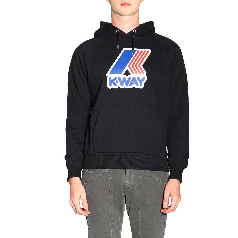Jumper men K-way black 1