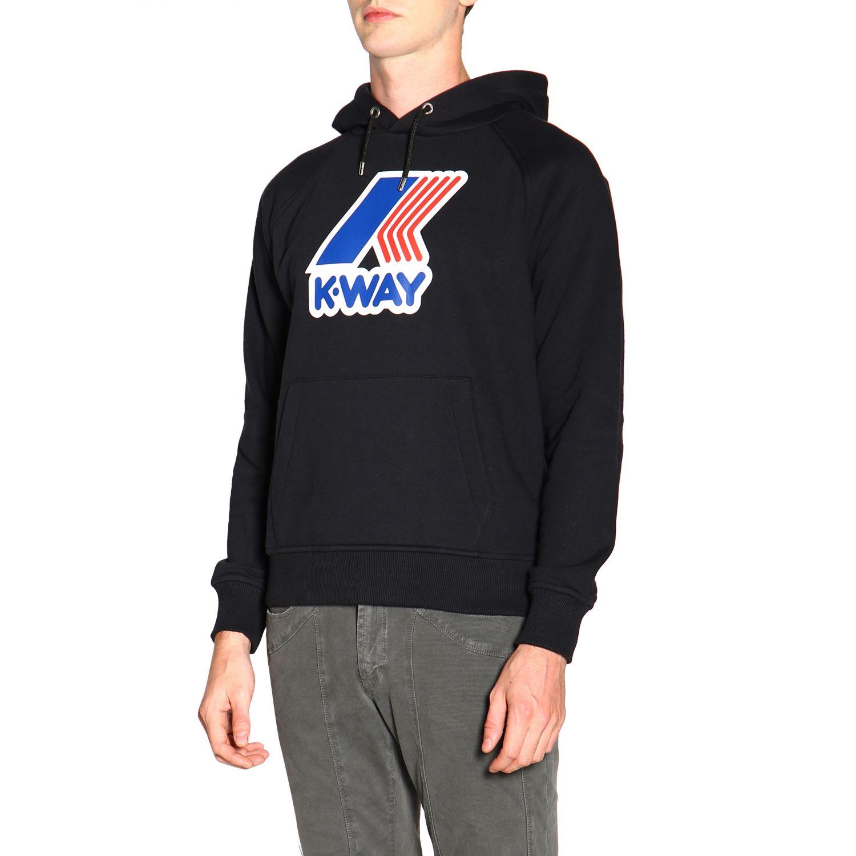 Jumper men K-way black 4