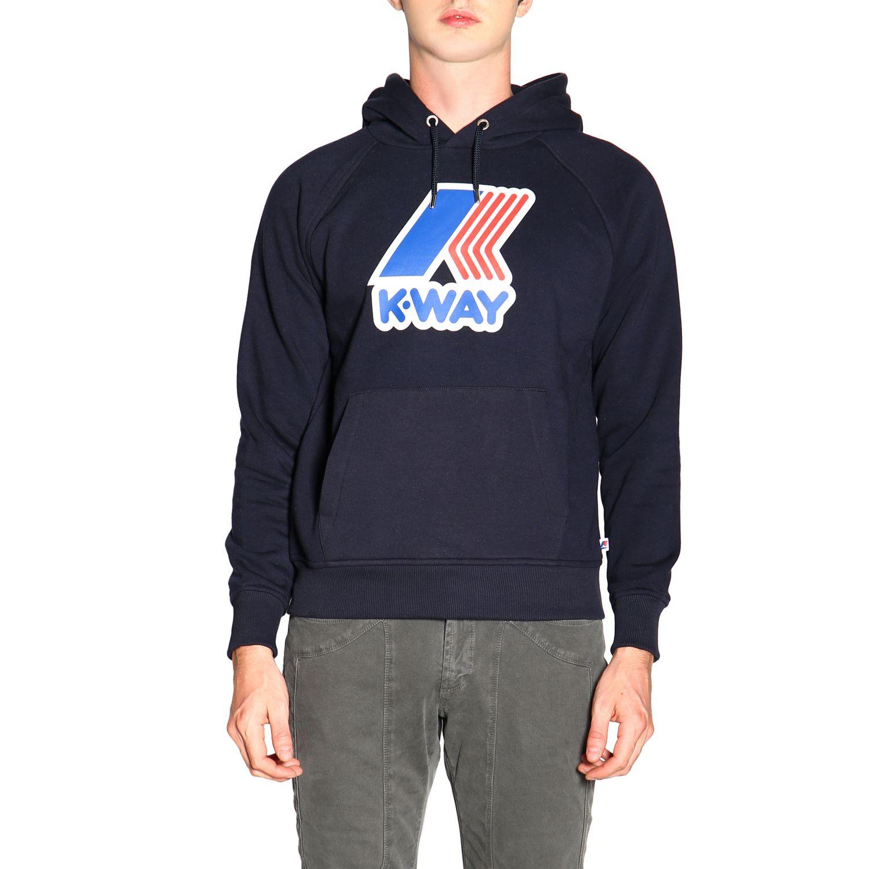 Jumper men K-way blue 1