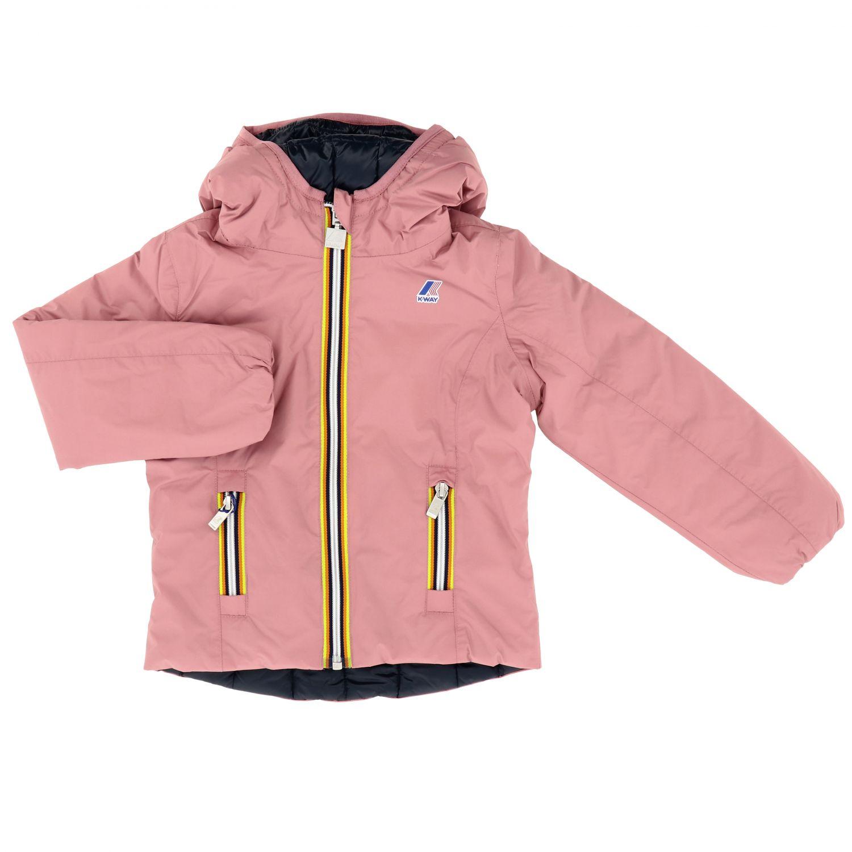 Jacket kids K-way pink 1