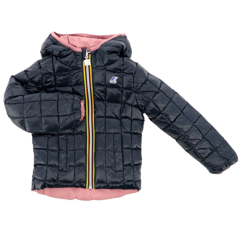Jacket kids K-way pink 3