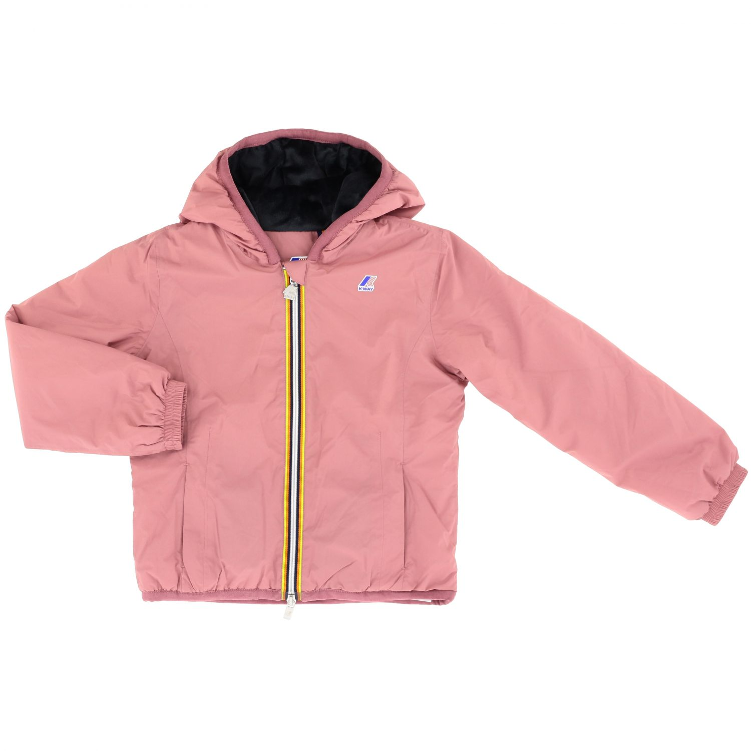 Jacket K-Way: Jacket kids K-way pink 1