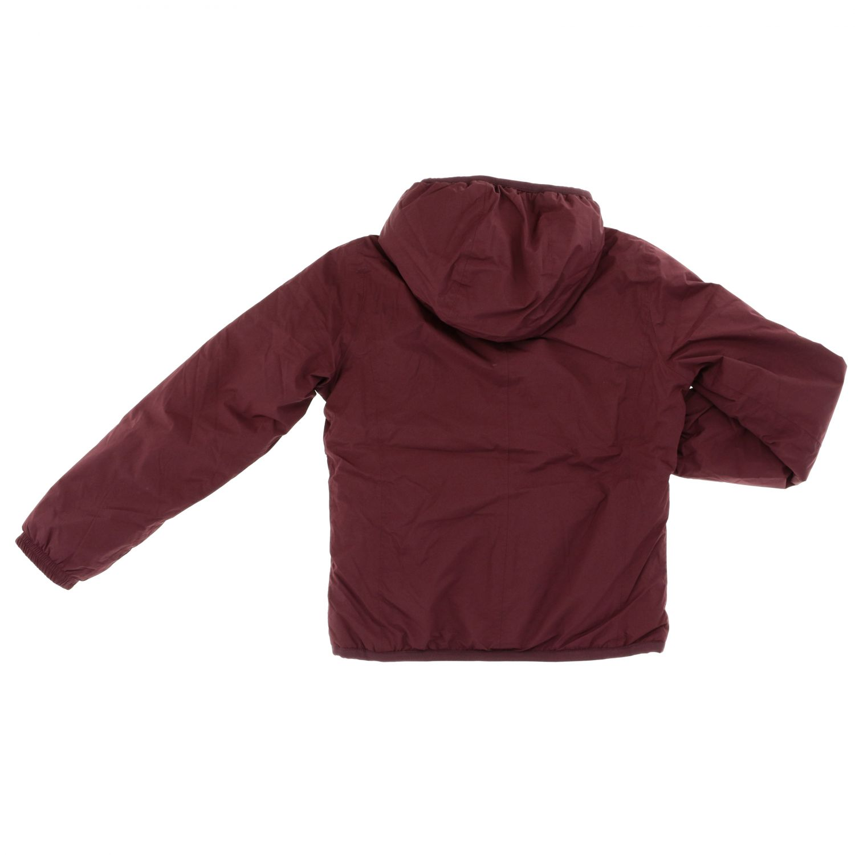 Jacket kids K-way burgundy 2