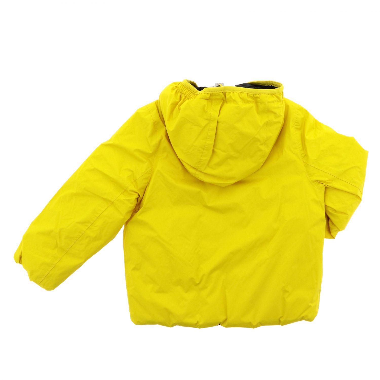 Chaqueta niños K-way amarillo 2