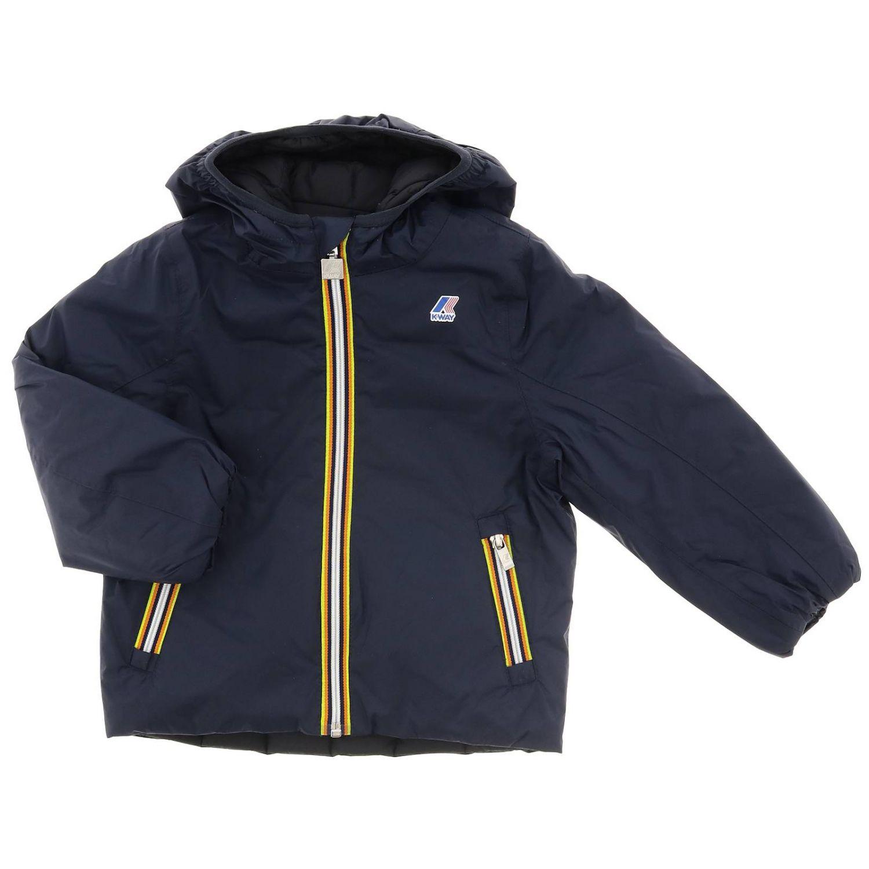 Veste enfant K-way bleu 1