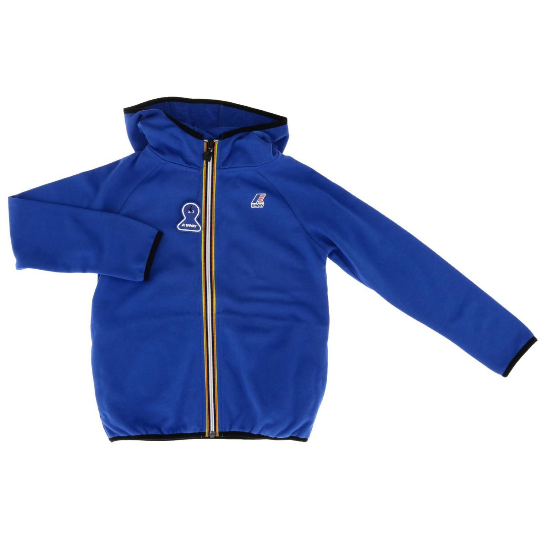 Sweater kids K-way royal blue 1