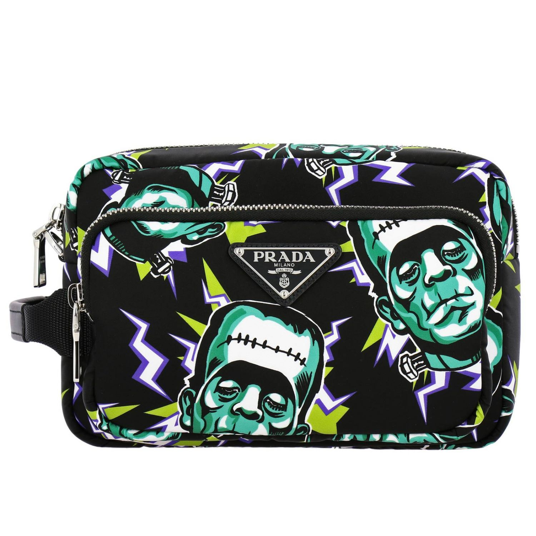 Cosmetic Case Prada: Bags men Prada multicolor 1