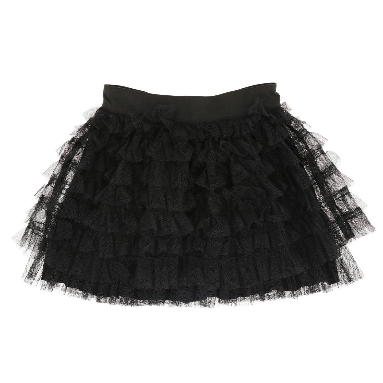 半身裙 Patrizia Pepe: 半身裙 儿童 Patrizia Pepe 黑色 1