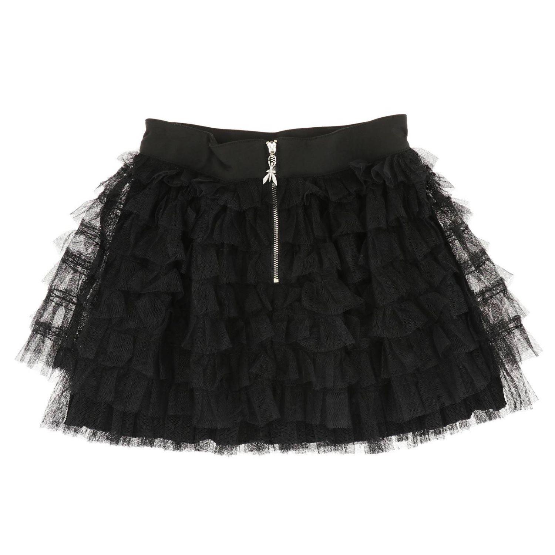 半身裙 Patrizia Pepe: 半身裙 儿童 Patrizia Pepe 黑色 2