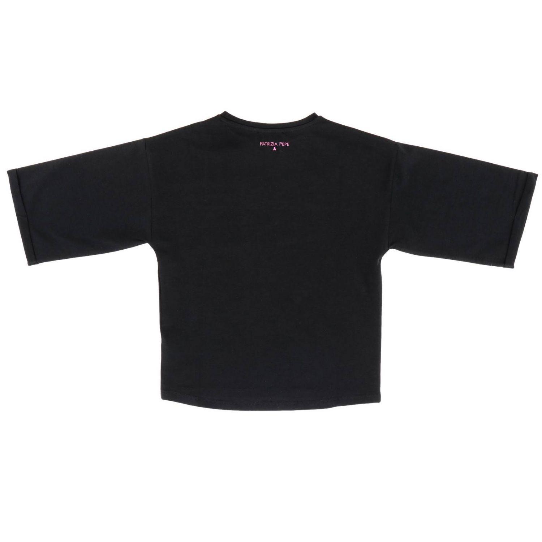 T-shirt Patrizia Pepe: T-shirt enfant Patrizia Pepe noir 2