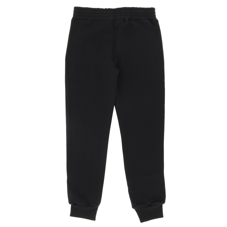Pants kids Neil Barrett black 2