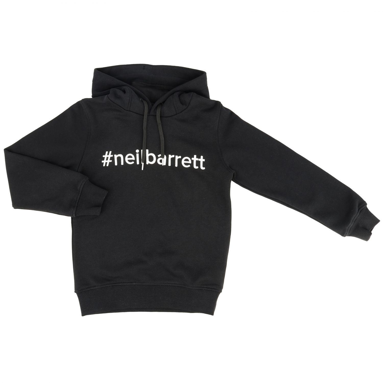 Sweater kids Neil Barrett black 1