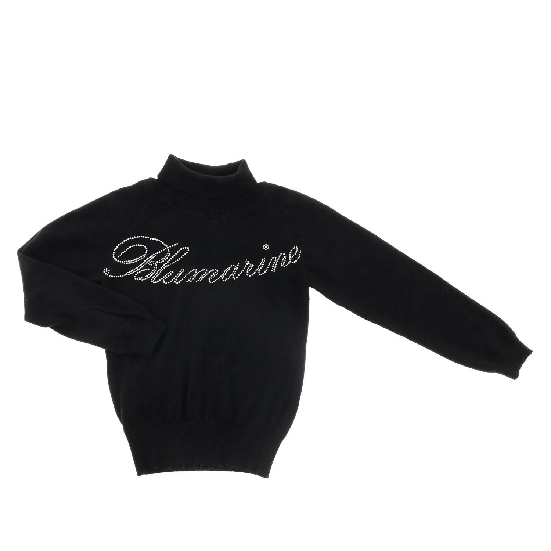 Свитер Детское Miss Blumarine черный 1
