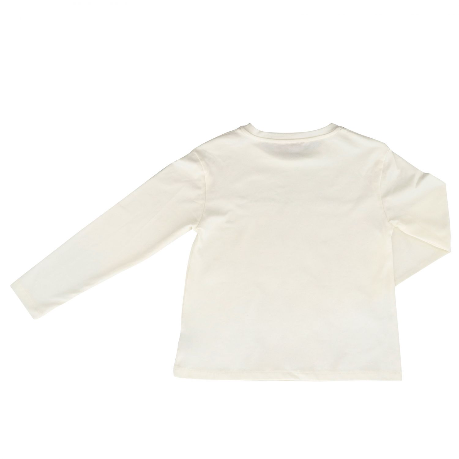 T-shirt kids Miss Blumarine yellow cream 2