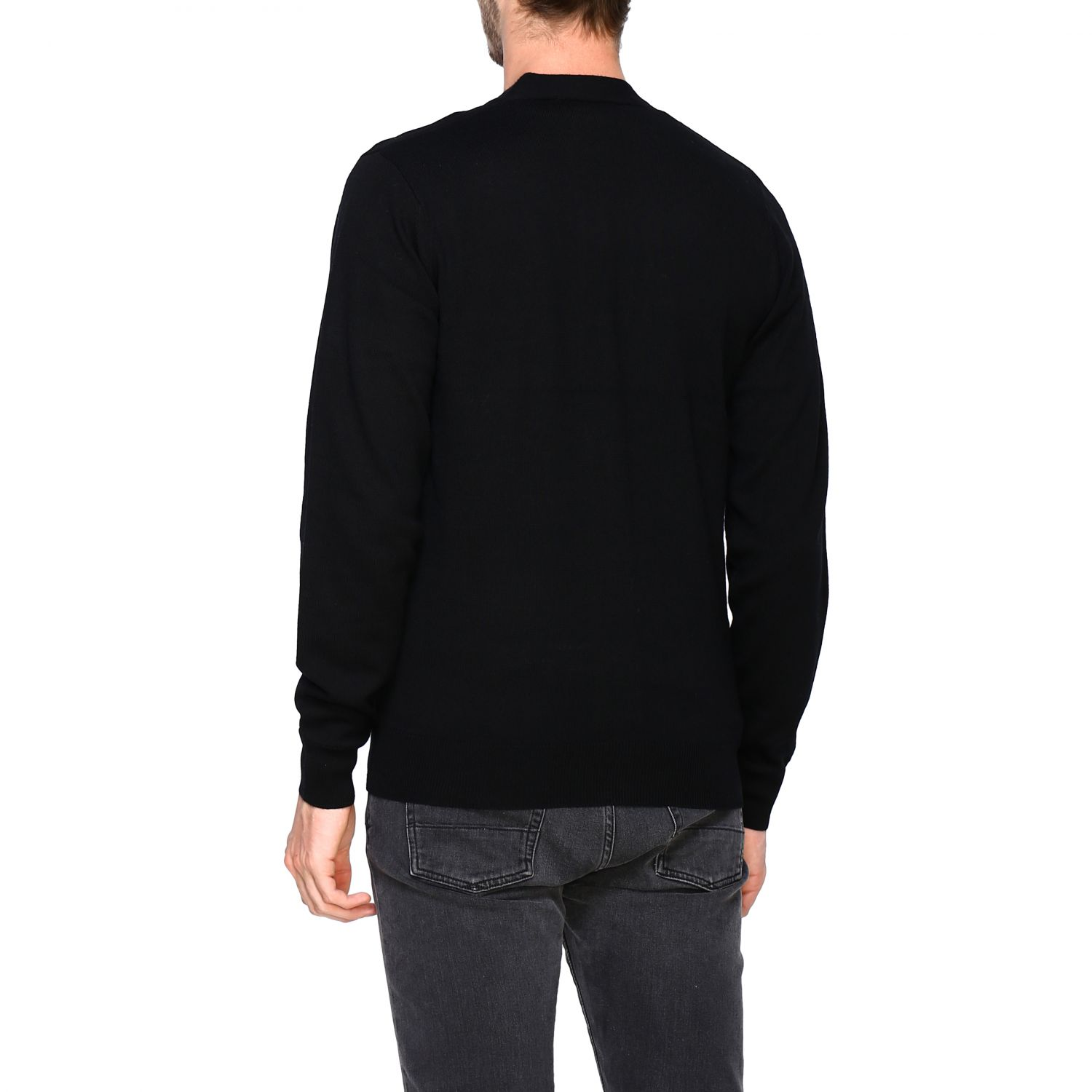 Cardigan Fred Perry: Jumper men Fred Perry black 3
