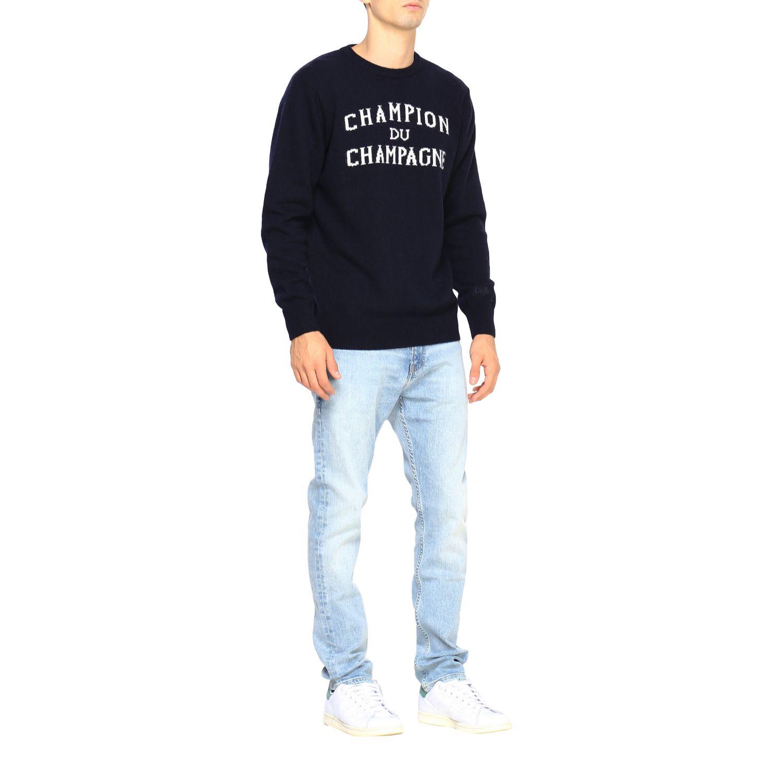 Sweater men Mc2 Saint Barth blue 2