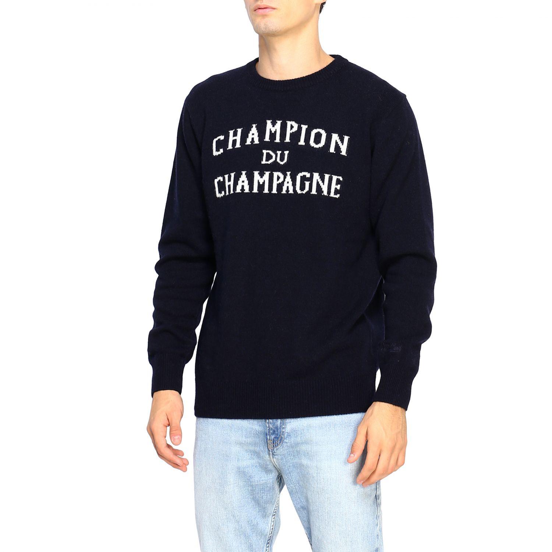 Sweater men Mc2 Saint Barth blue 4