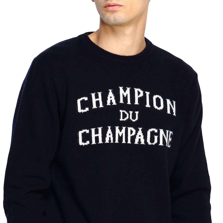 Sweater men Mc2 Saint Barth blue 5