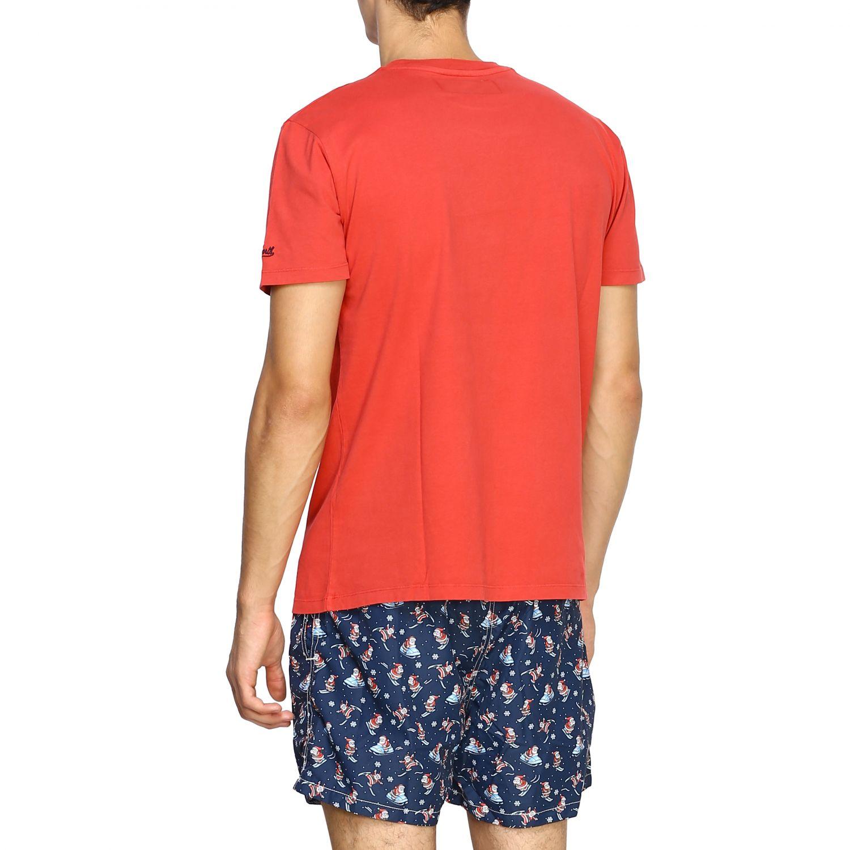 T恤 男士 Mc2 Saint Barth 红色 3