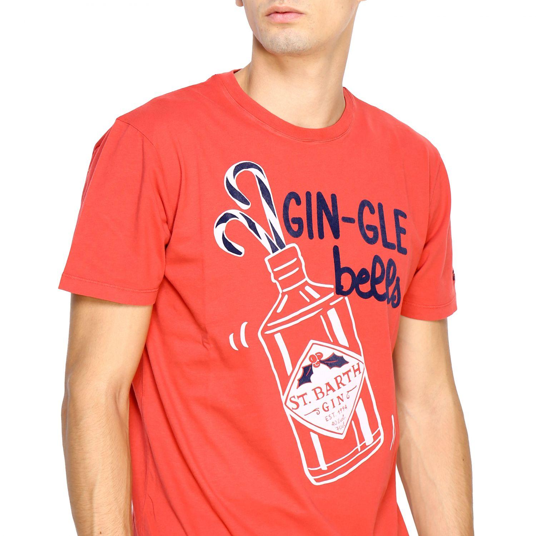T恤 男士 Mc2 Saint Barth 红色 5