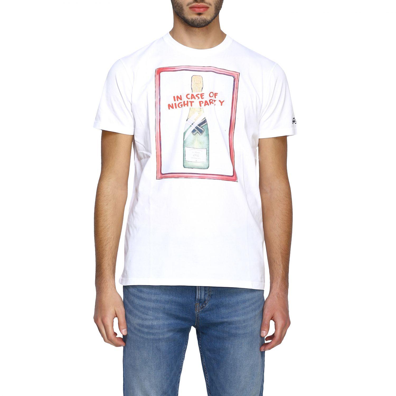 T恤 男士 Mc2 Saint Barth 白色 1