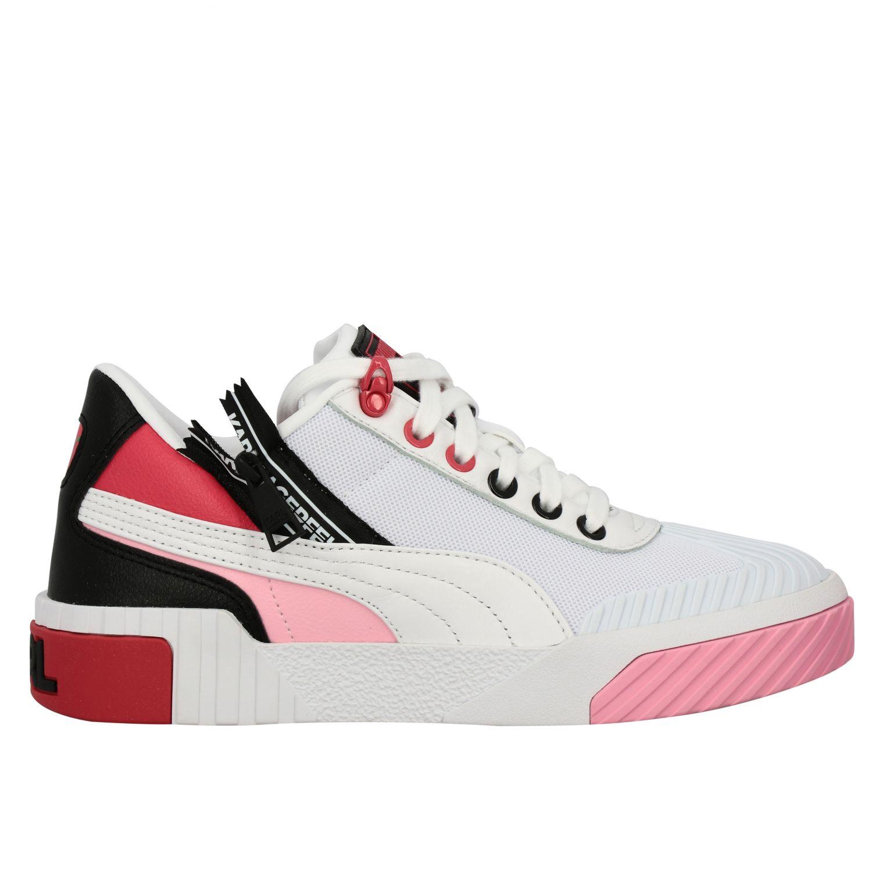 Shoes women Puma X Karl Lagerfeld white 1